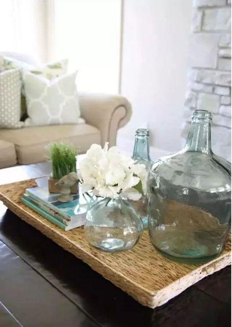 deco plage salon style marin bord mer une table basse en