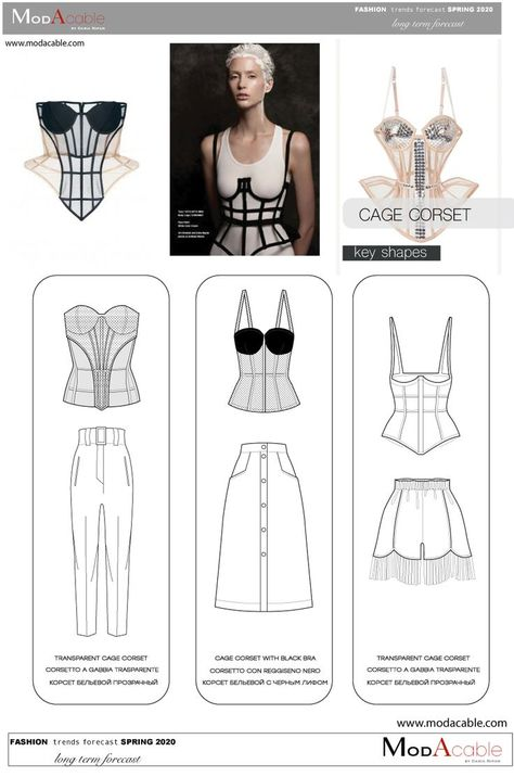 Spring 2020 trend Cage Corset – 2020 Fashions Womens and Man's Trends 2020 Jewelry trends