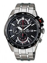 Casio Edifice Quartz Chronograph Carbon Fiber Dial Date(June Watch # (Men Watch)
