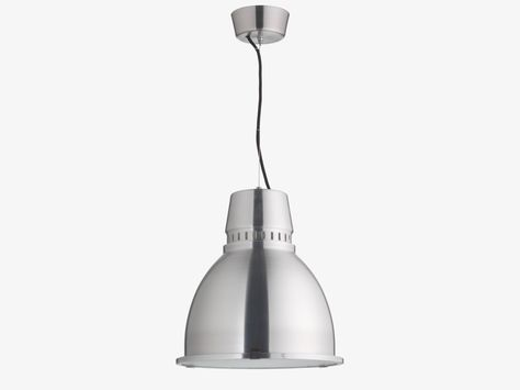 Industry Brushed Metal Ceiling Light Ceiling Lights Light Fittings Island Pendant Lights