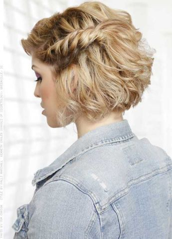 Looking For Prom Hairstyles For Short Hair Here Are 25 Stunning Prom Hairstyles For Short Hair Haircut For Thick Hair Braids For Short Hair Short Hair Styles