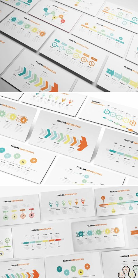 Timeline Infographic PowerPoint Design