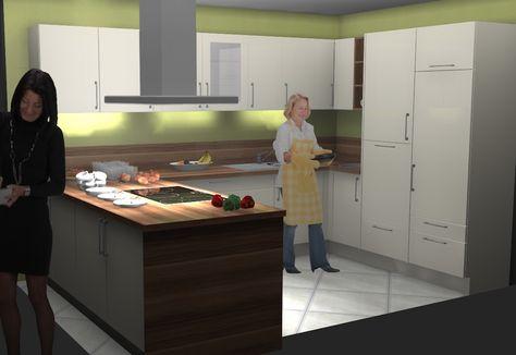 Küchendesign #Kochinsel #Küchenstudio #Noack #Lehrte bei #Hannover