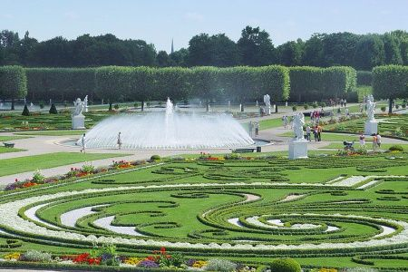 Vintage Herrenhausen Gardens Hannover Deutschland Gro er Garten u Berggarten Herrenhausen in Hannover Pinterest Hannover
