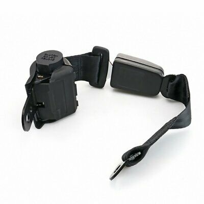 1Pair 2 Point Retractable Safety Belt Seatbelt Buckle Clip Grey For for Tyt
