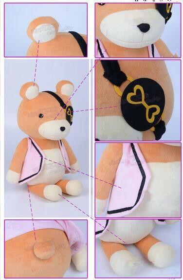 "Cute 21.6/"" Sakamaki Kanato/'s Plush Doll Teddy Bear Diabolik Soft Toy Lovers Gift"