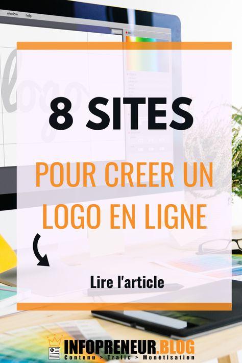 8 Site Pour Creer Un Logo En Ligne 2020 En 2020 Creer Un Logo Logo Gratuit En Ligne Logo En Ligne
