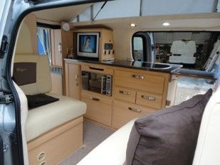 Another Campervan Layout
