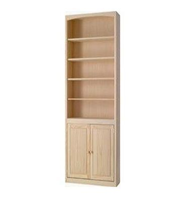 meet 9cd57 32d9c 24-48 Inch] AFC Bookcases with Doors | Miriam | Wide ...