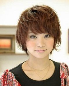 Image Result For Real Life Anime Hair Female Short Hair Styles 2014 Cute Hairstyles For Short Hair Messy Hairstyles