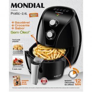 Fritadeira Eletrica Sem Oleo Mondial Air Fryer Af 21 Capacidade 2