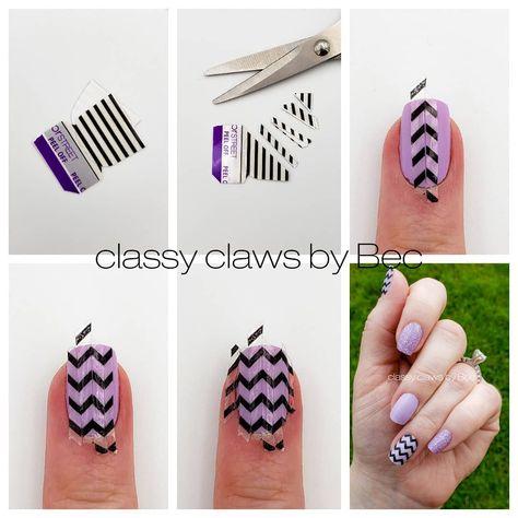 Nail Color Combos, Cute Nail Colors, Aztec Nails, Chevron Nails, Nautical Nails, Colorful Nail Designs, Beautiful Nail Designs, Super Cute Nails, Pretty Nails