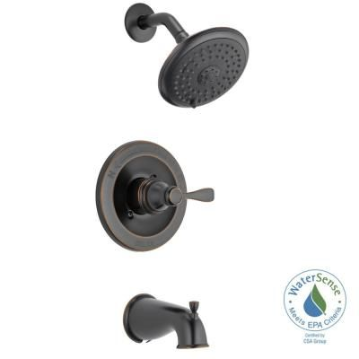 Design House Oakmont 2 Handle 1 Spray Tub And Shower Faucet In Oil