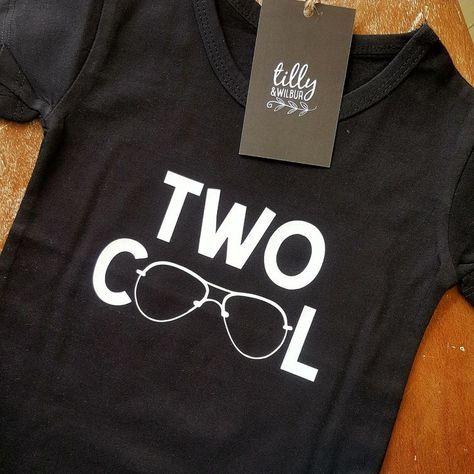 Zwei Coole Jungen Geburtstag T Shirt Zwei Coole Shirt 2 Jahre