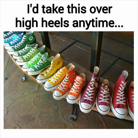So many pairs of converse! I would die happy if I owned that many...I only have 4 pairs.