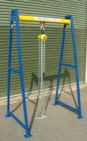 Resultado De Imagen Para Frame Gantry Crane Plans Gantry Crane Crane Homemade Tools