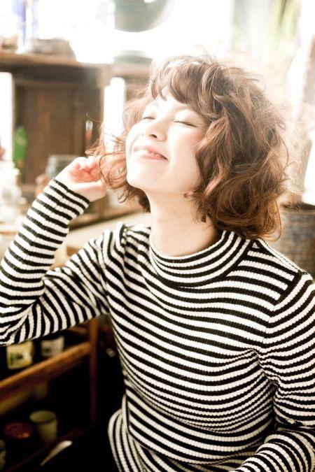 アニーパーマ ボブ カットモデルアプリ Cutmo カトモ プチプラ で髪を切る ボブパーマ パーマ 髪型 ショート パーマ