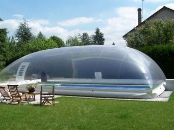 Inflatable swimming pool shelter - Swimming pool covers ...