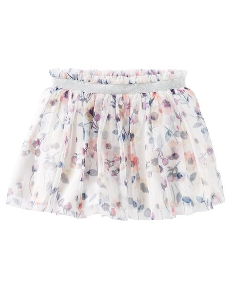 0894094c2 Toddler Girl Floral Tulle Skirt from OshKosh B'gosh. Shop clothing &  accessories from