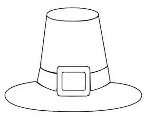 Printable Pilgrim Bonnet Coloring Page For Kids Coloring Pages