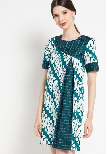 Model Baju Batik Modern Yang Keren Dan Model Dress Batik Modern Baju