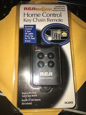 New Rca Home Automation Control Key