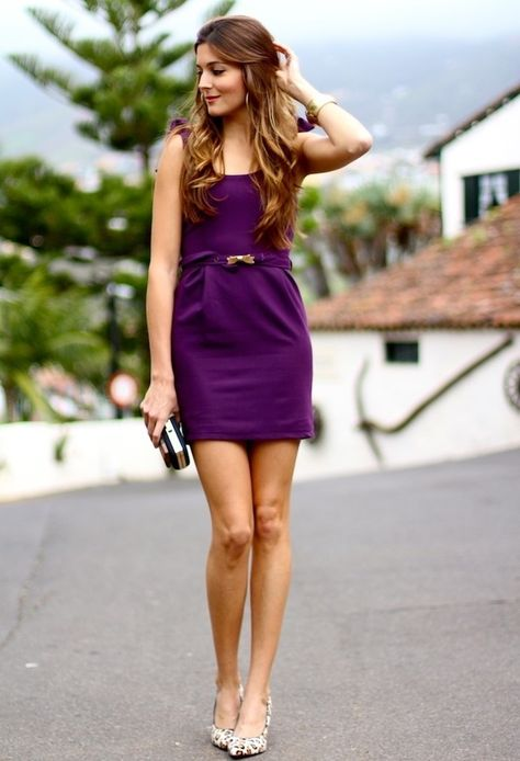 e2ad061ab2e Purple dress. Purple dress. Подробнее... Looking Stylish with Cute Summer  Outfits