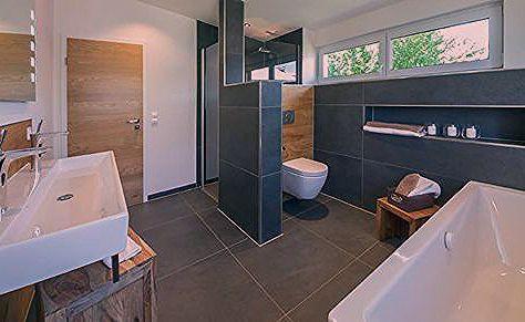 Musterhaus Falkenberg 168 Badezimmer Von Licht Design Skapetze Gmbh Co Kg Badezimmer Falkenberg Gmbh Kg Gaste Wc Modern Badezimmer Grundriss Zimmer