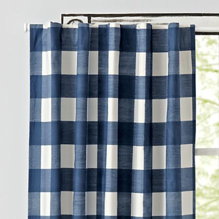 Black Buffalo Check 96 Blackout Curtain Reviews Crate And