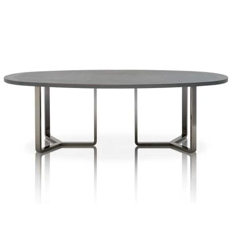 Vincent Oak Oval Dining Table Brown Modern Life In 2020 Dining
