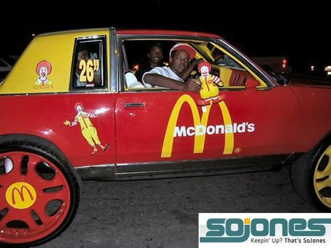 Ronald McDonald's hot whip