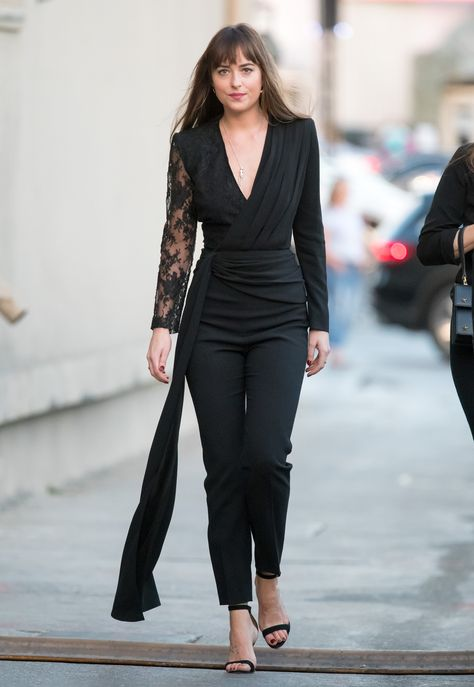 Dakota Johnson In Givenchy – Jimmy Kimmel Live!