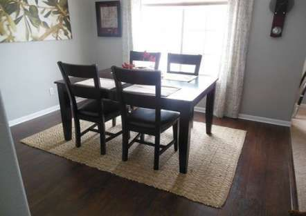 Best Kitchen Table Rug Size Living Rooms 39 Ideas Rug Under Dining Table Rug Under Kitchen Table Dining Room Contemporary