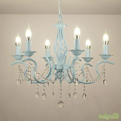 Material Iron Crystal 6 X E14 Include Led Light Bulb Light Bulb You May Also Like In 2020 Chandelier Makeover Painted Chandelier Diy Chandelier