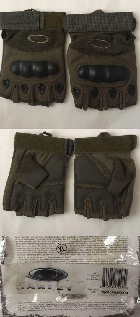 Highlander Mens Raptor Lightweight Leather Fingerless Assault Gloves