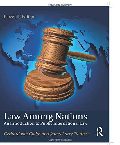 DOWNLOAD PDF] Law Among Nations An Introduction to Public