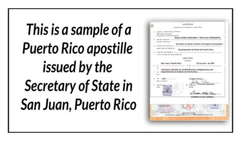 This is a sample of a Puerto Rico birth certificate acceptable for - best of florida birth certificate sample