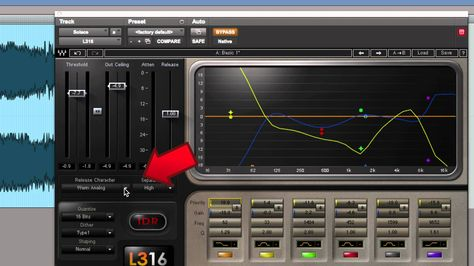 Mastering With The Waves L3 16 Multimaximizer Plugin Waves Recording Studio Music