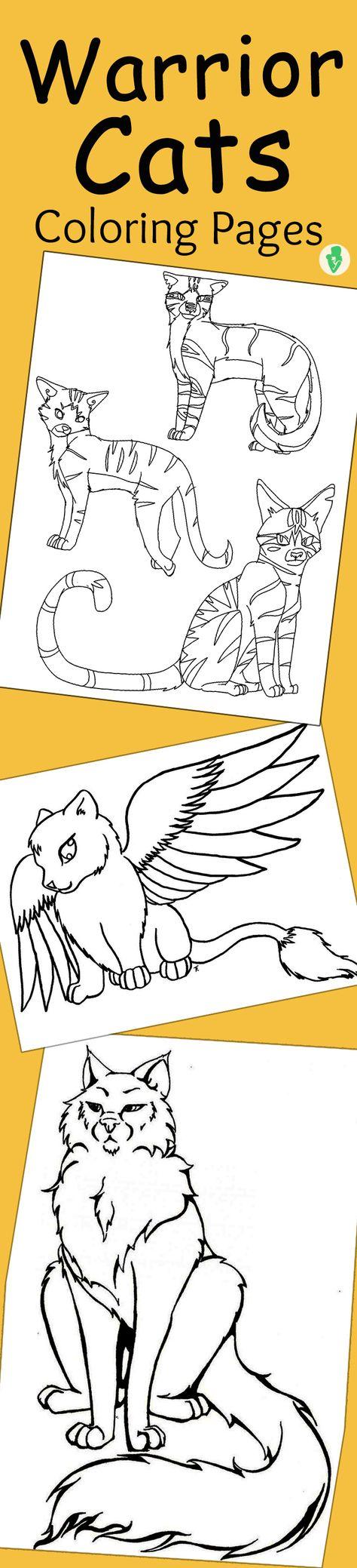 oben warrior cats ausmalbilder zum ausdrucken  top