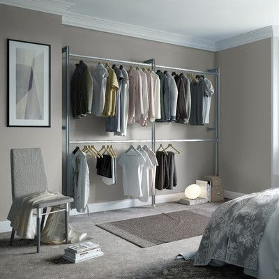 """Space Pro Relax 100""""W Closet System"""