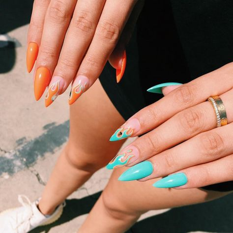 35 ideas for aesthetic trendy acrylic nails 2020  ring's art