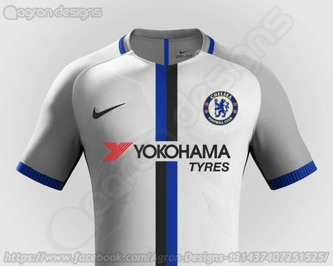 Stunning Nike Chelsea 17 18 Concept Kits Revealed Footy Headlines Football Jersey Outfit Nike Football Kits Jersey Outfit