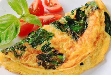 """E.R. physician Dr. Travis Stork shares his favorite healthy breakfast recipe for a spinach omelet, from his new book, """"The Doctor's Diet."""" Start your day off right with this tasty, and healthy, recipe!"""
