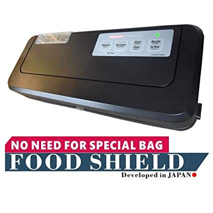 Food Shield Works With Ziploc Vacuum Chamber Pouches Reduce Your Running Costs By Up To 90 It Can Even Vacuum Sealer Vacuum Sealers Vacuum Sealer Review