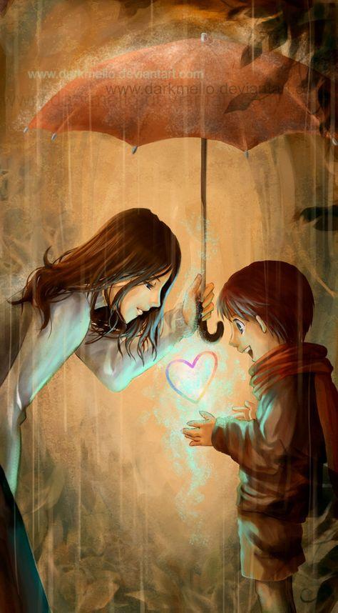 Rainbow of Love by ~darkmello on deviantART