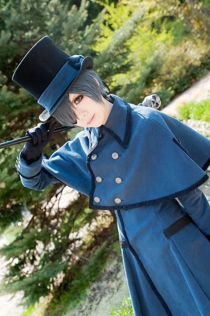 Ciel Phantomhive from Black Butler Cosplay    anime cosplay