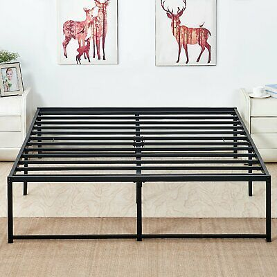 Details About Twin Full Queen King Platform Metal Bed Frame