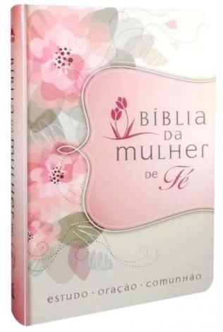 Biblia Da Mulher De Fe Capa Flores Thomas Nelson Brasil
