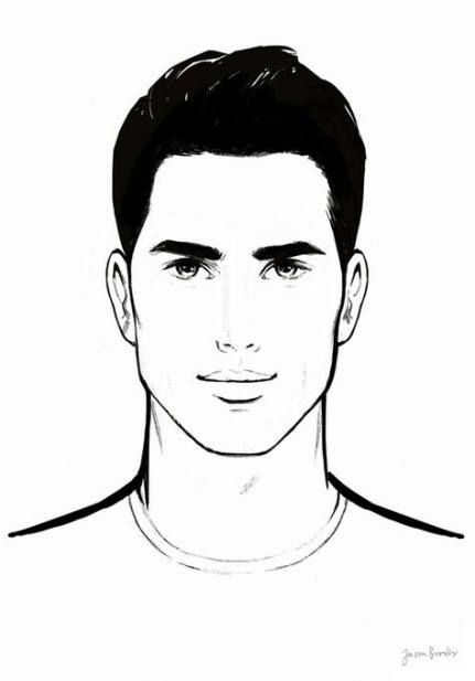 59 Ideas Fashion Drawing Man Face For 2019 Male Face Drawing Mens Fashion Illustration Male Face