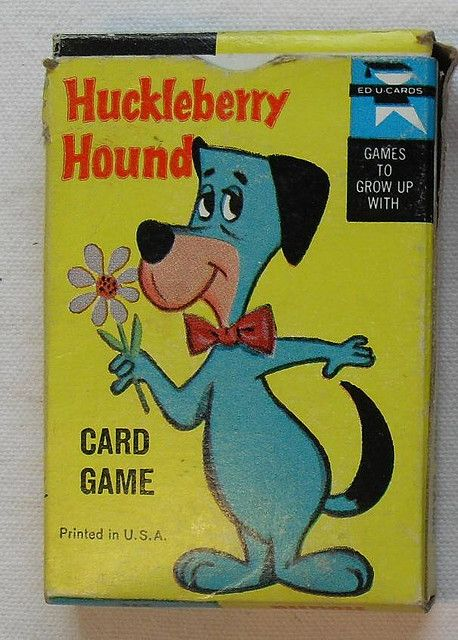 Huckleberry Hound Card Game 1960s